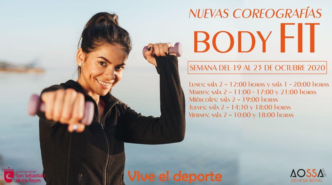 COREOGRAFÍAS BODY FIT octubre 2020