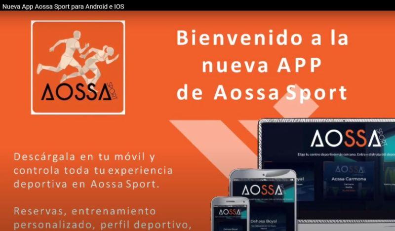 Nueva App Aossa Sport para Android e IOS