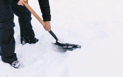 Filomena – Quitando la Nieve del Rocódromo – enero 2021