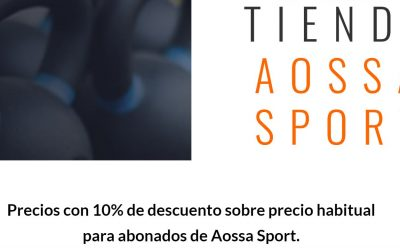 Tienda Web Aossa Sport