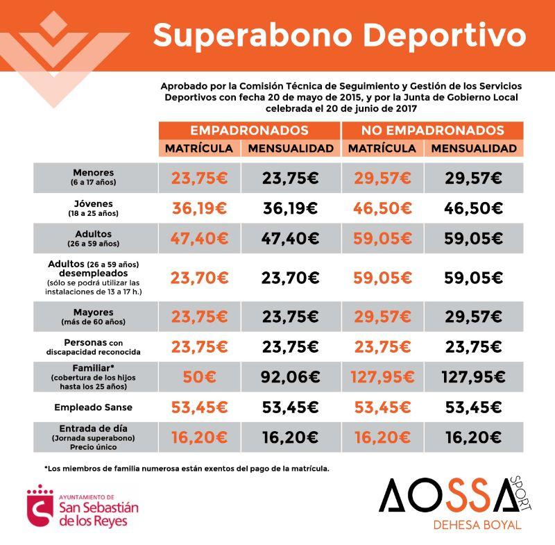 SUPERABONO DEPORTIVO 2021
